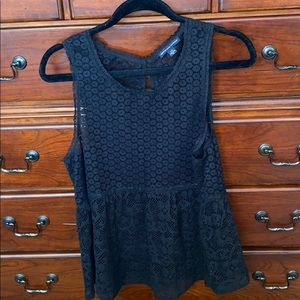 American Eagle Outfitters eyelet lace top